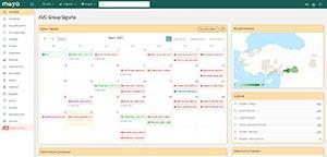 Maya Poliçe takip sistemi vartag yazılım tarafından yapılan Sigorta yazılımıdır